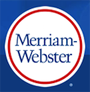 MerriamWesbster.com logo and link