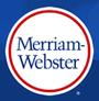 Logo et lien MerriamWesbster.com
