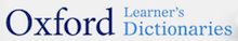 Oxford Learner's Dictionaries logo and link